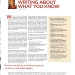 WFM 0708 Article on how to write 001